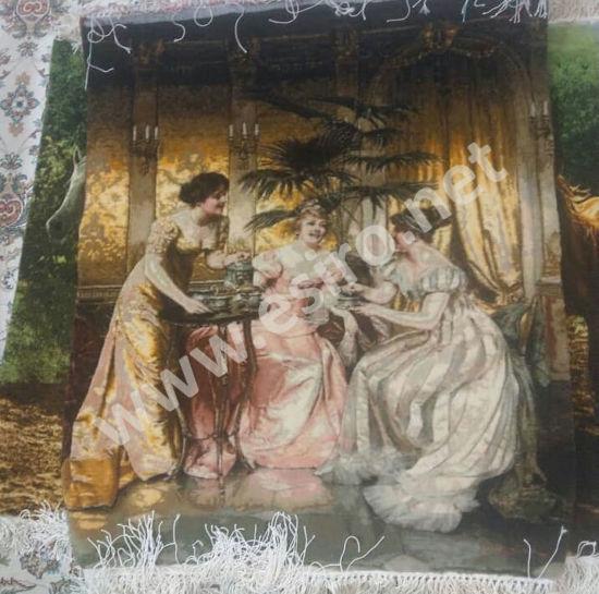 Picture of British Girls Framed Carpet